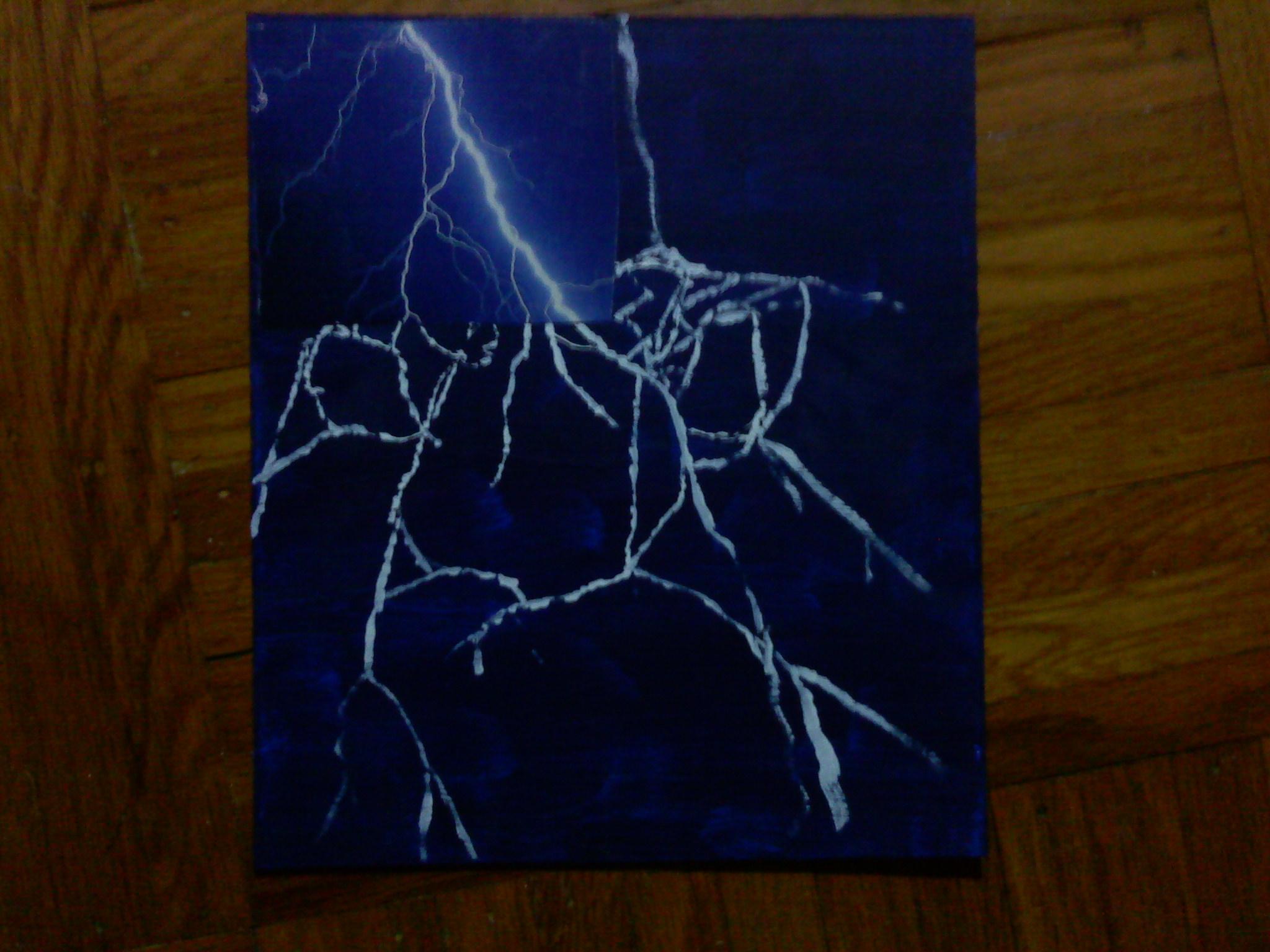 Pawprint Lightning