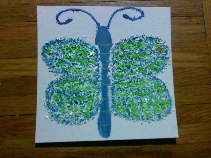 Eggshell Butterfly