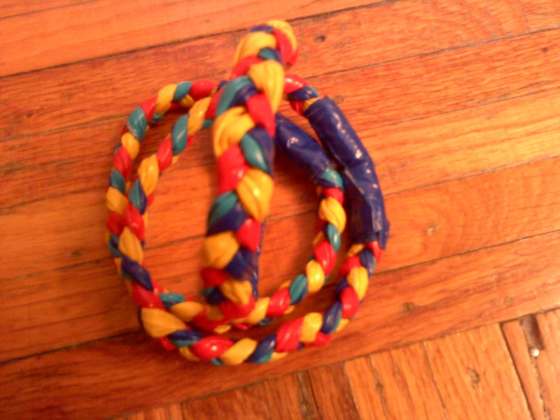 Autism Awareness Duct Tape Bracelets
