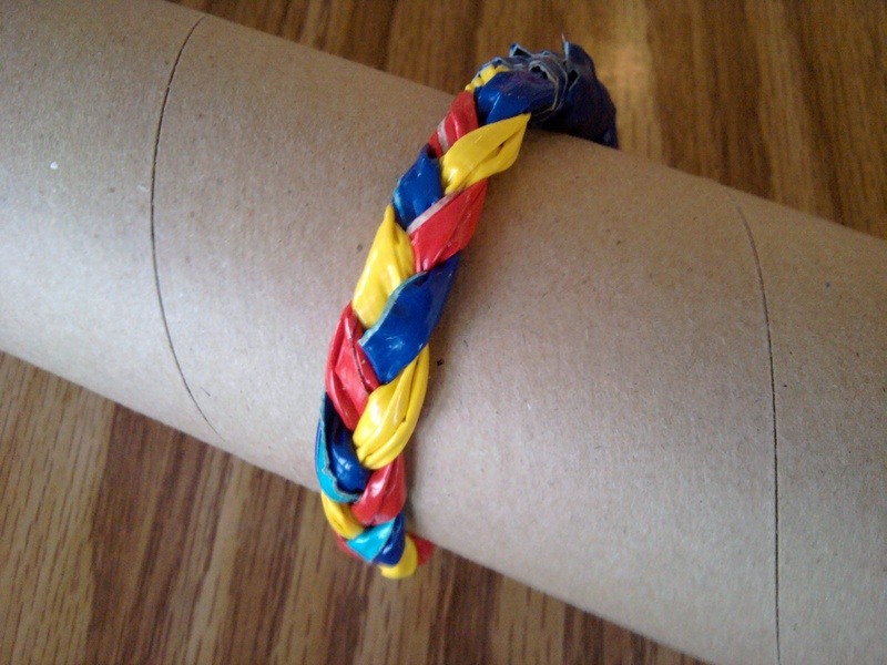 Autism Awareness Duct Tape Bracelet